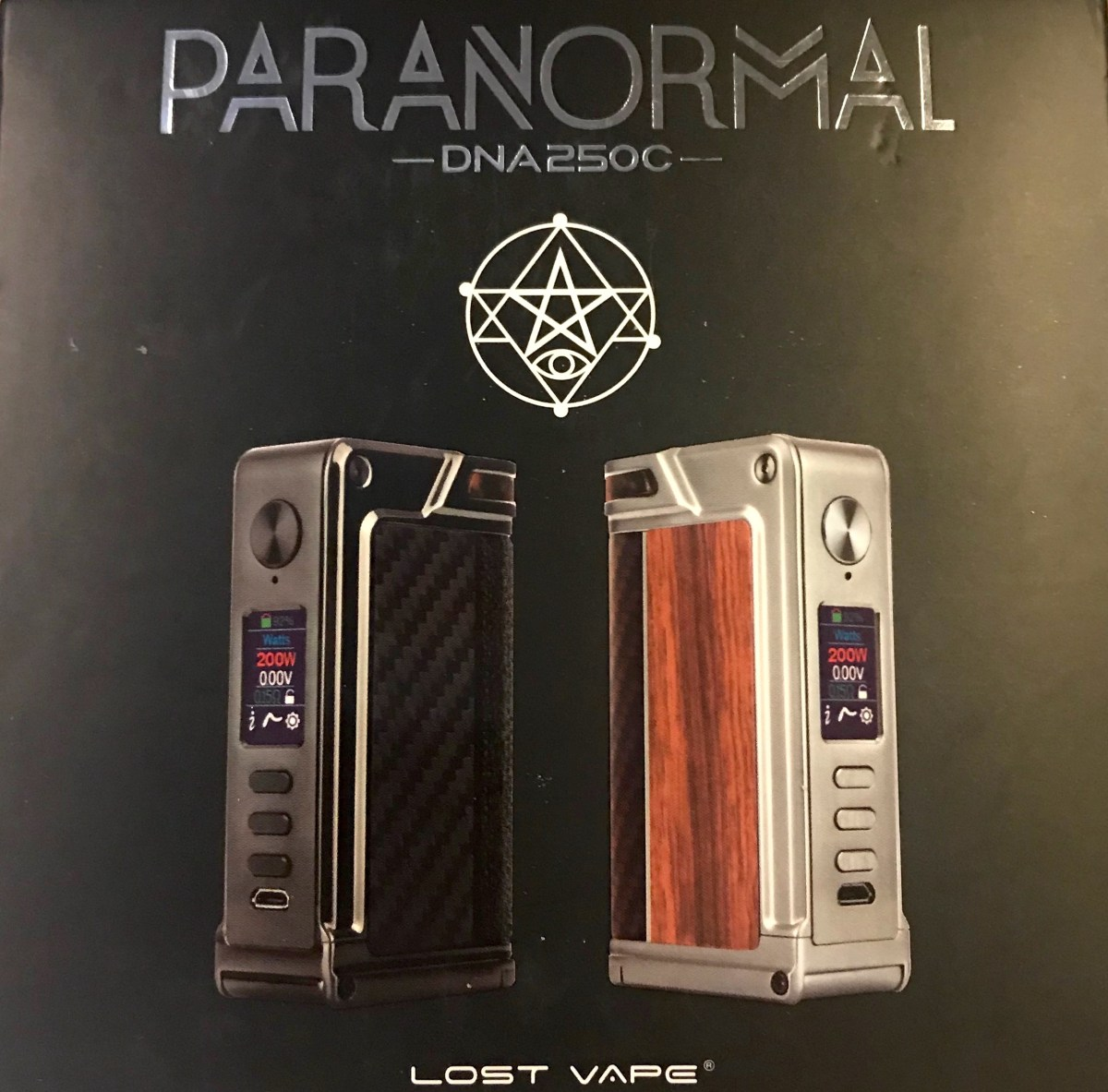 Lost Vape Paranormal DNA250 [A Spooky Review]